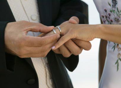 bague sur mesure mariage
