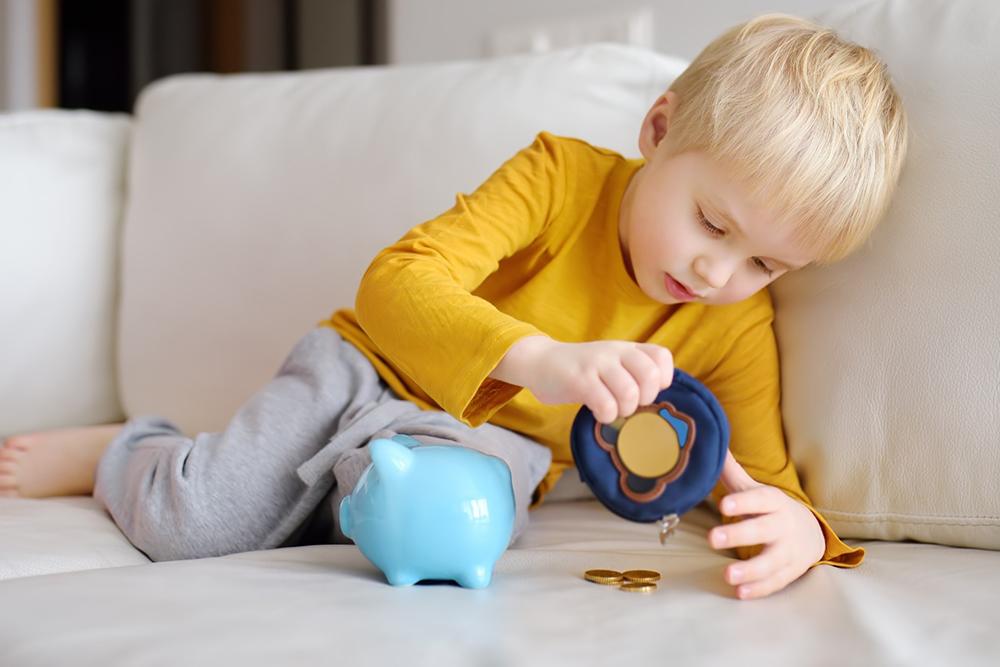 argent et enfants