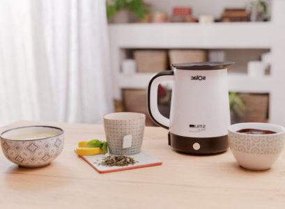 Bouilloire électrique pour chauffer du lait