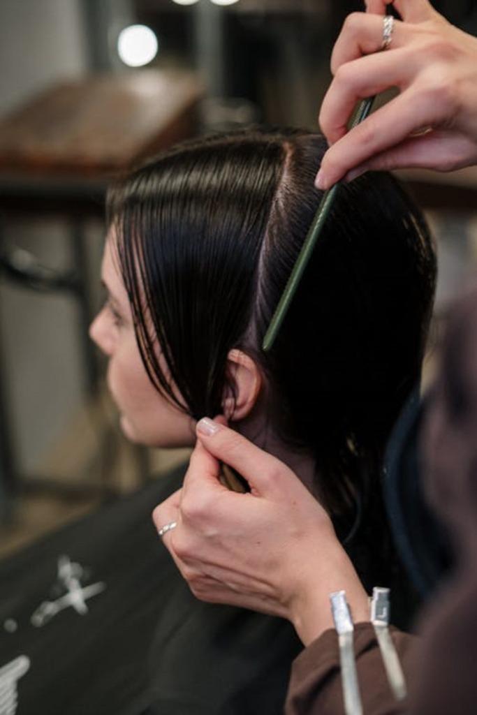 casque de coiffure