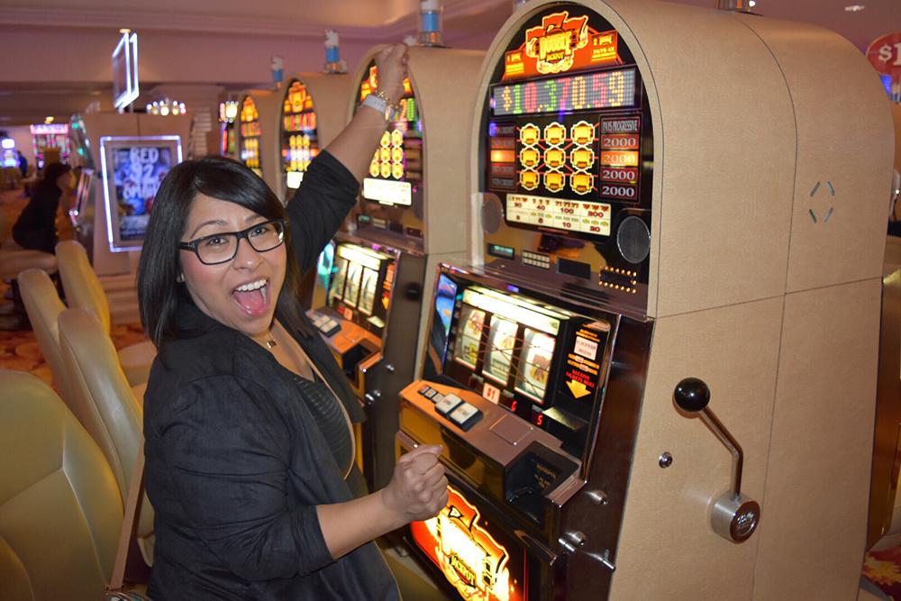 clientèle féminine au casino
