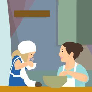 cuisine et enfants