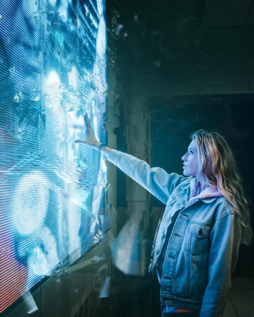 écran LED transparent de Pekason