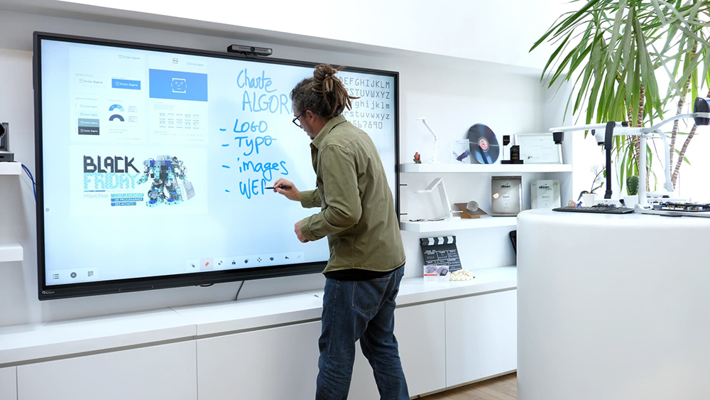 écran tactile interactif