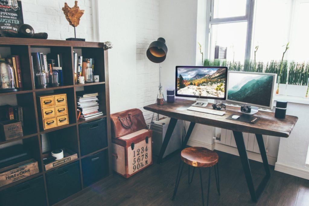 installer votre bureau à domicile