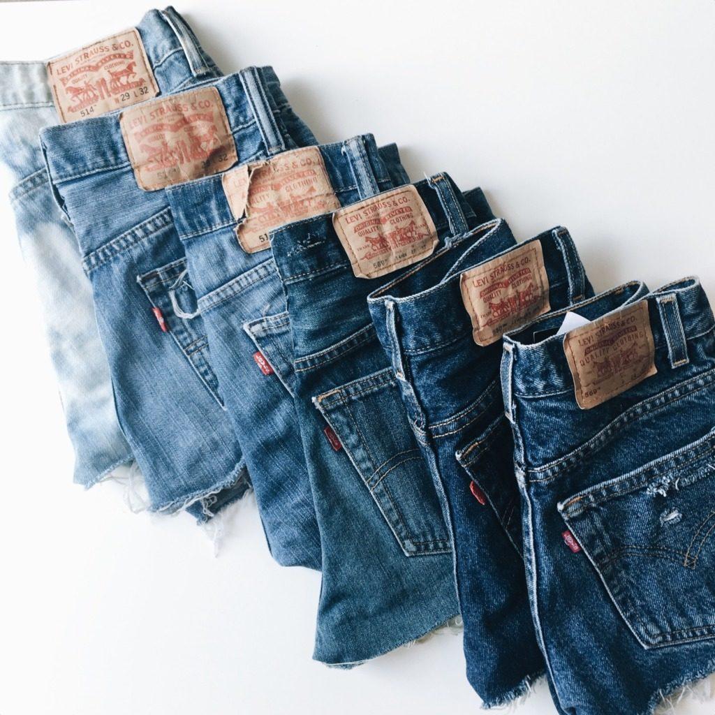 jeans bleus