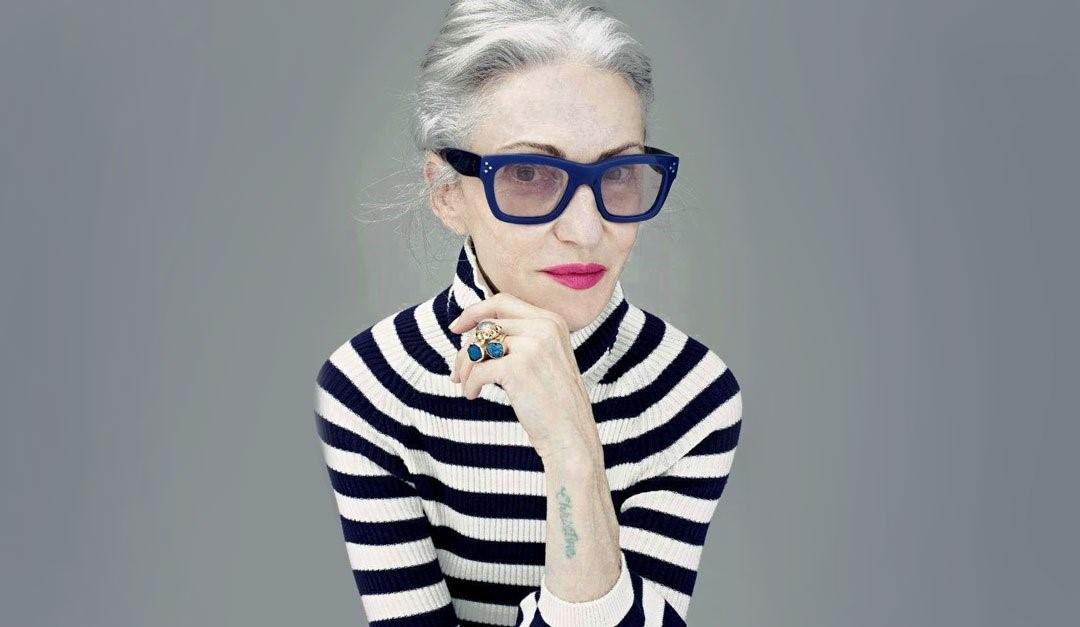 lunettes bleues pour femme