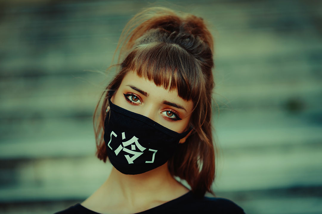masque japonais streetwear