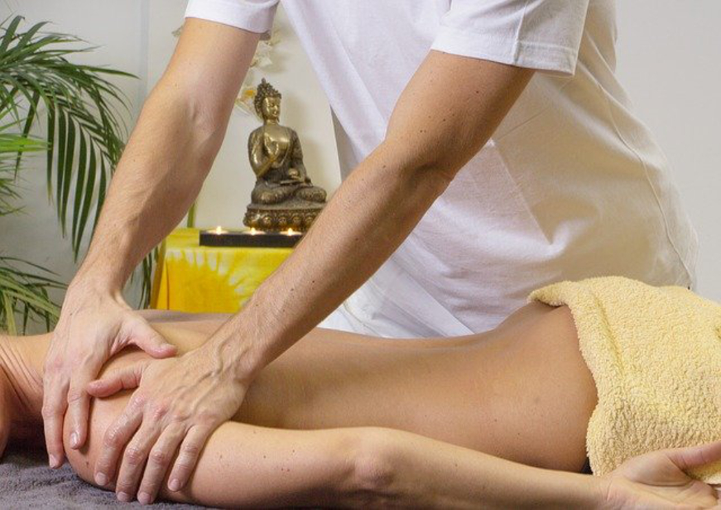 massage au CBD