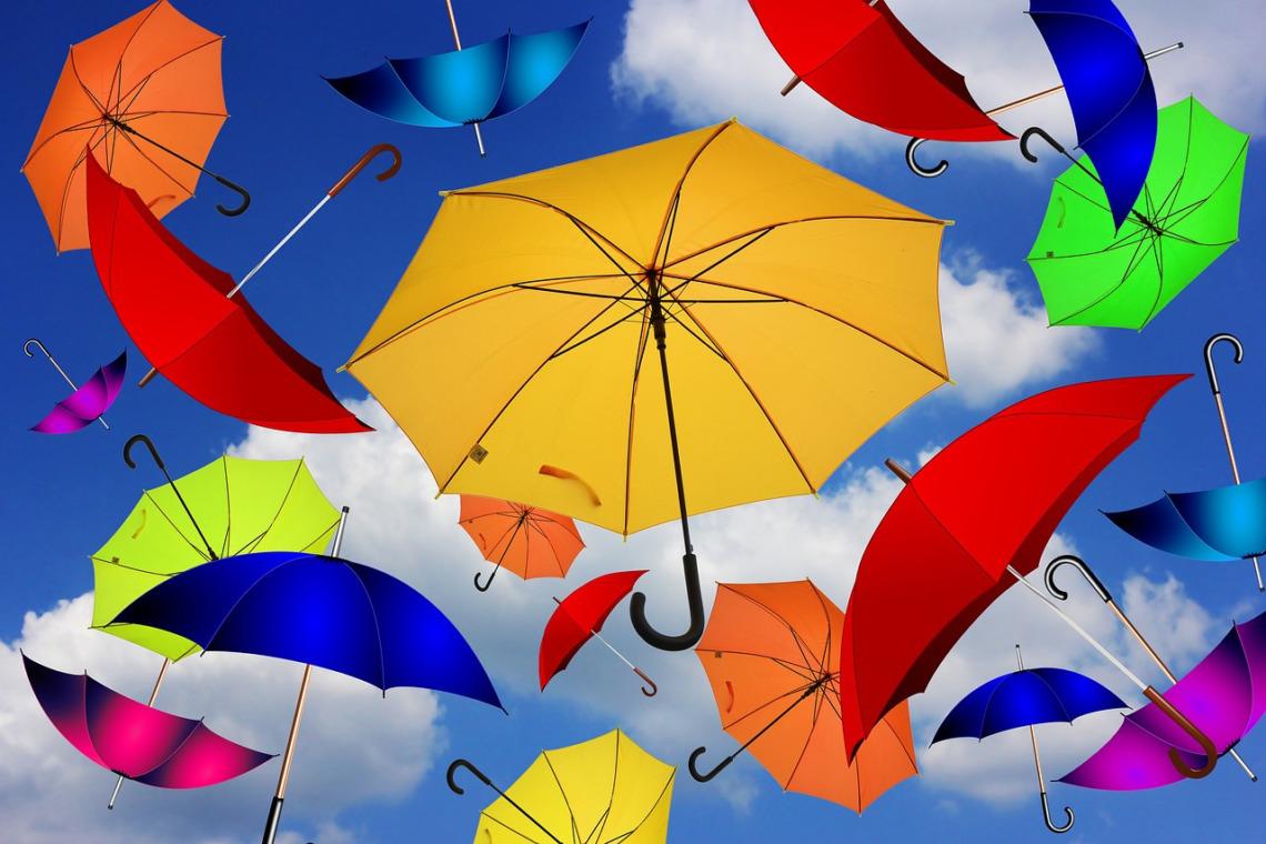 parapluie et mode