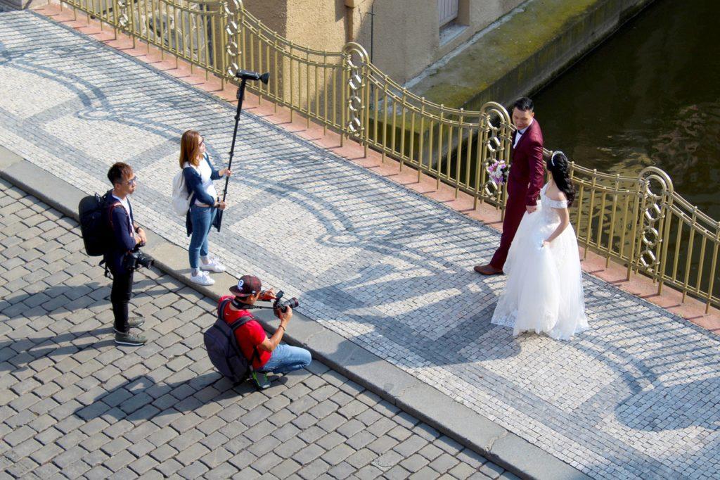 style de photo de mariage