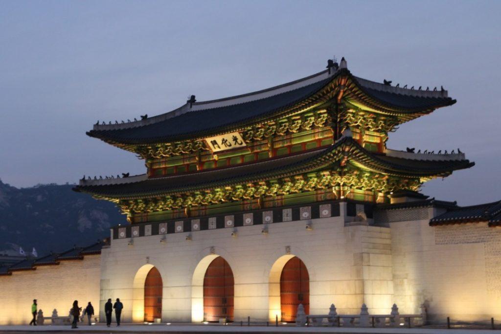 premier voyage en Corée