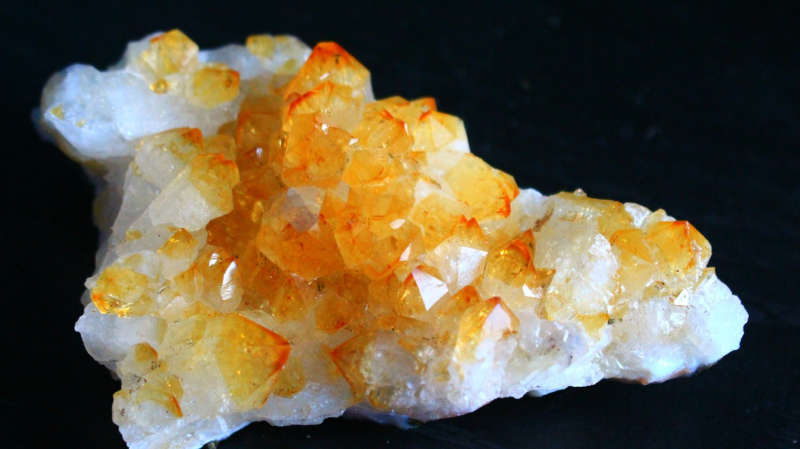 quartz citrine santé