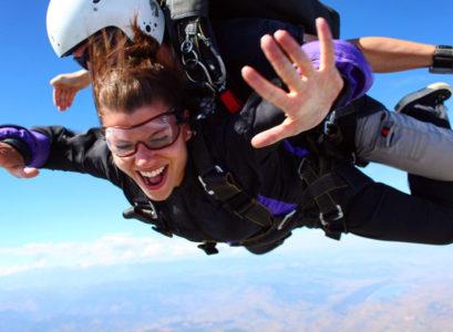 sensations parachute