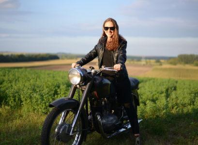 stylé à moto