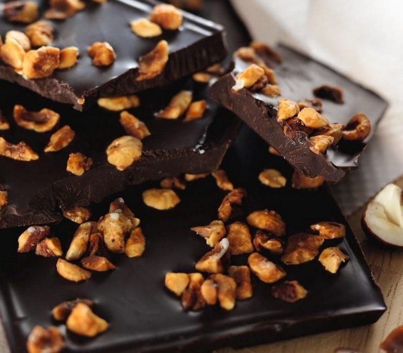 Chocolat bio aux noisettes