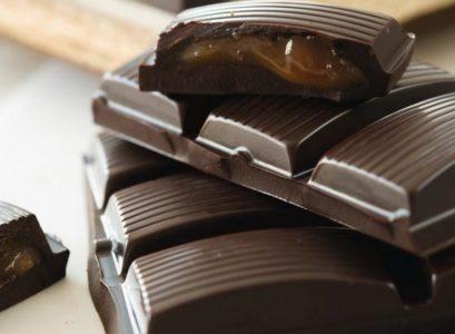 Chocolat noir bio : tablette