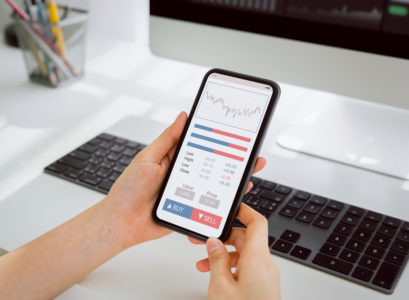 trading sur mobile