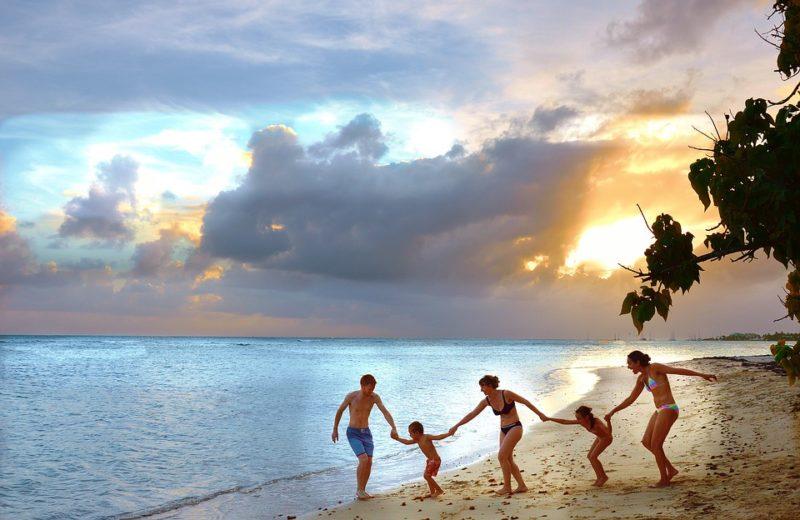 vacances d'été en famille