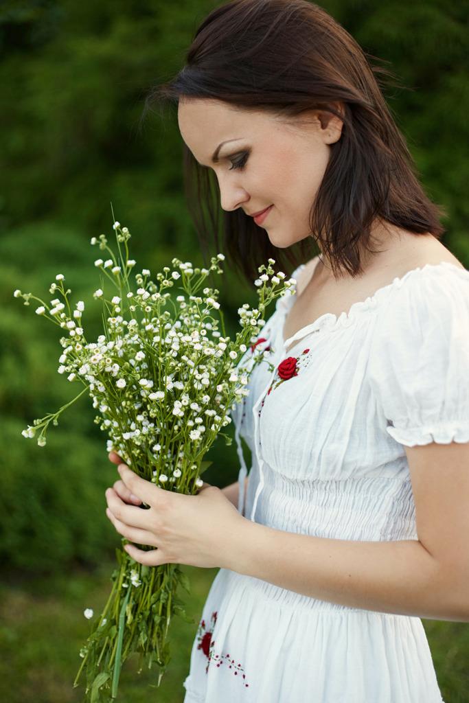 vêtements femme romantique